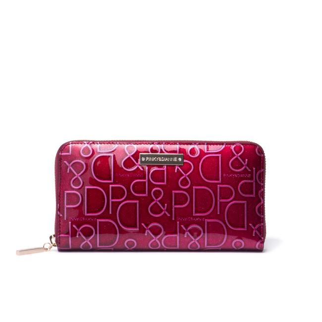 PINKY&DIANNE ドルチェ ラウンドファスナー長財布