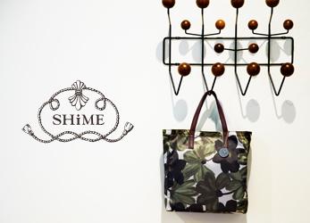 SHiME(シィメ)花柄バッグ